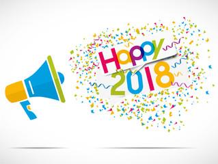 megaphone : happy 2018