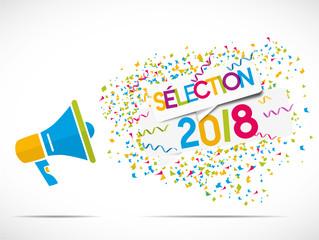 mégaphone : sélection 2018