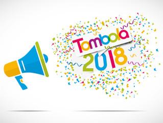 mégaphone : tombola 2018