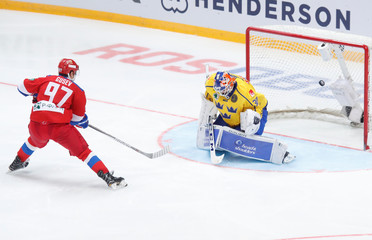 Euro Hockey Tour - Channel One Cup - Russia v Sweden