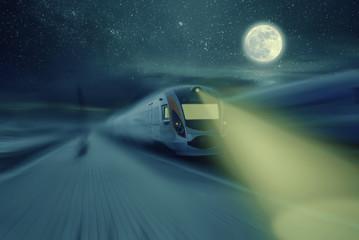 High Speed Night Train