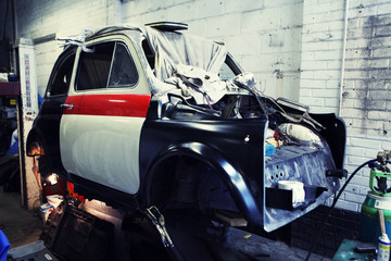 Car restoration.