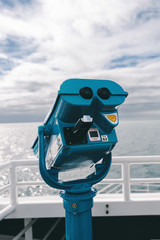 view finder on a ferry boat