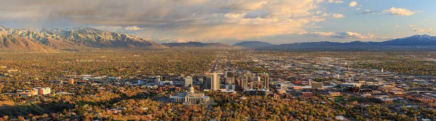Wall Mural - Salt Lake City, Utah, USA.