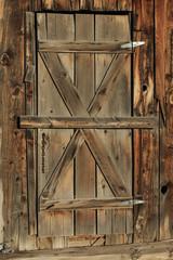 Rustic vintage barn wood background.