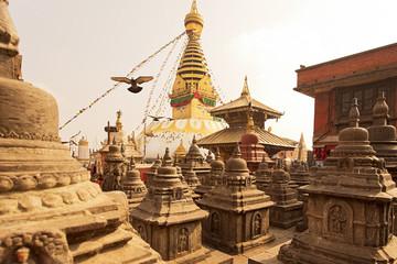 Swoyambhu Stupa in Kathmandu Nepal