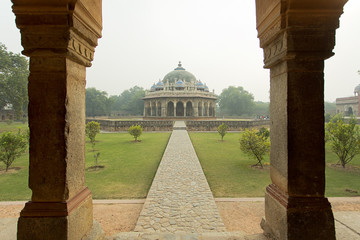 Humayun Tomb Garden Delhi India