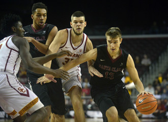 NCAA Basketball: Santa Clara at Southern California