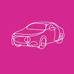 silhouette voiture