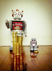 yesteryear robots money