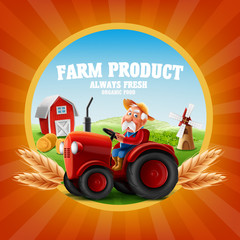 farm product banner