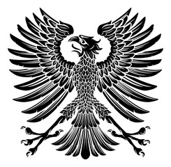Imperial Style Eagle Emblem