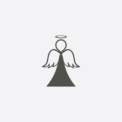 Angel Icon Vector.