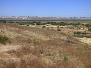 Palos de la Frontera en Huelva (Andalucia,España). Pueblo de partida de Cristobal Colon para el descubrimiento de America