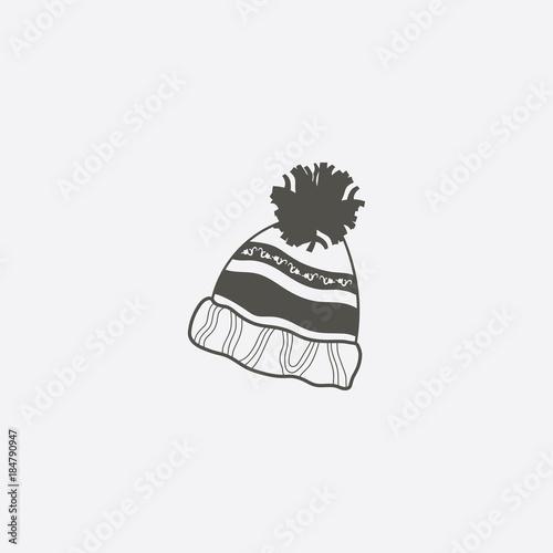 5f304576c94 Winter snowboard cap icon