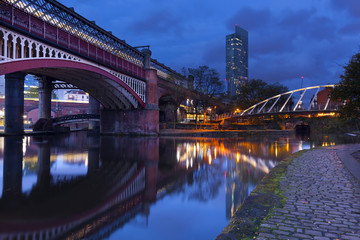 Castlefield in Manchester