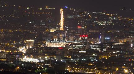 Iasi city at night, Romania