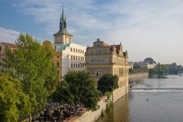 Prag-Moldauufer