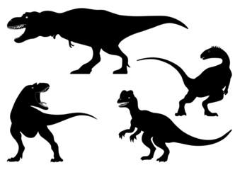 dinosaurs predators. paleontology.