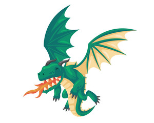 Ancient Cute Dragon Illustration Character, Suitable for Children Product, Print, Logo, Game Asset, And Other Children Related Occasion.