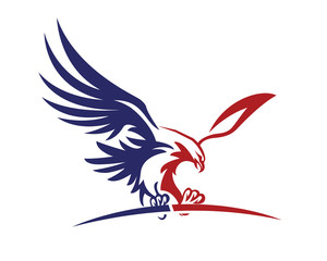 American Patriotic Eagle Special Force Logo