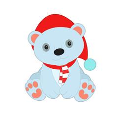 новогодний медведь