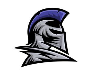 Modern Charismatic Knight Leader Logo
