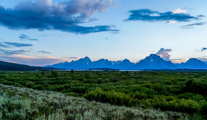 A day of hiking through the Grand Teton National Park in Wyoming.