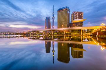 Staande foto Tokyo Sumida River, Tokyo, Japan