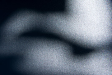 Silver textured under the shade with blue gradient.Silver texture with shadow texture background.Dark silver texture