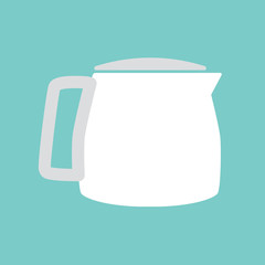 coffee maker icon- vector illustration