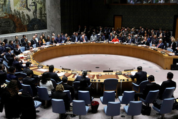 The United Nations Security Council meets on North Korea's nuclear program at U.N. headquarters in New York City