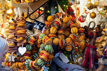 Natural Orange Cinnamon Christmas decoration