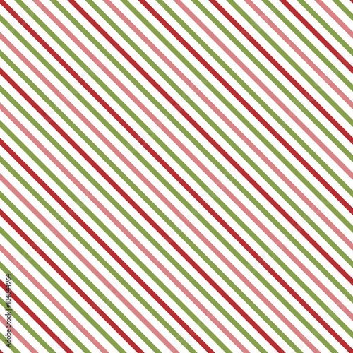 Diagonal Christmas Stripes Eps File Includes Global Colors For Easy