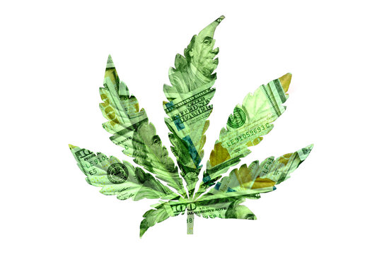 money marijuana Insulation Background concept of money and taxes with the sale of cannabis, money marijuana