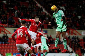 League Two - Swindon Town vs Colchester United