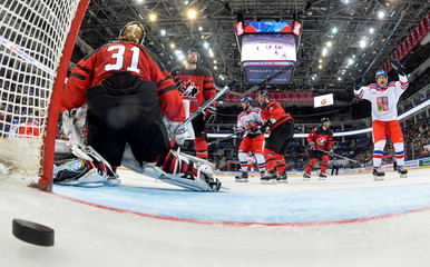 Euro Hockey Tour - Channel One Cup - Czech Republic v Canada