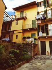 Wall Mural - Traditional houses in Italy