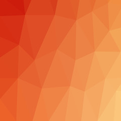 Orange vector Polygonal Background. Creative Design Pattern Templates can be used for background.