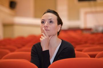 beautiful director in theatre