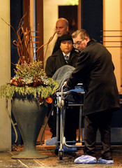 One of two bodies is removed from the home of billionaire founder of Canadian pharmaceutical firm Apotex in Toronto