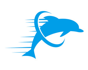 dolphin silhouette fish nautical marine life image animal