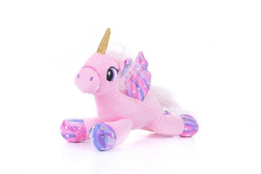 unicorn plush cute toy child gifi
