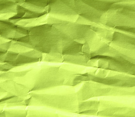 Paper is green with a cracked texture and dents. Fashionable color - Lime Punch.