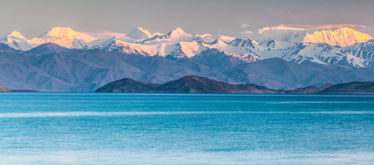 Nice view of Pamir in Tajikistan