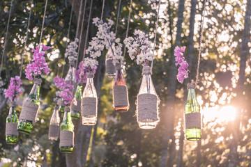 DIY decoration design for wedding romantic events