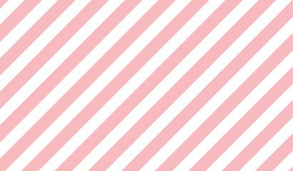 pink & white diagonal stripes pattern background