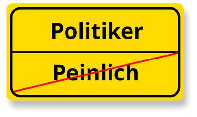 Politiker / Peinlich