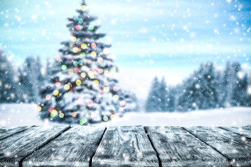 winter background space