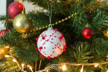 Christmas decoration. Christmas ornaments
